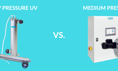 What is the difference between Low pressure UV and Medium Pressure UV lamps?