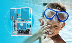 Výhody technologie LifeOX<sup>®</sup> M přiodstraňování trichloraminu zbazénové vody